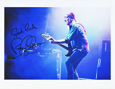 ROGER GLOVER (Deep Purple) original AUTOGRAPH 8x10 signed photo (hand signed).