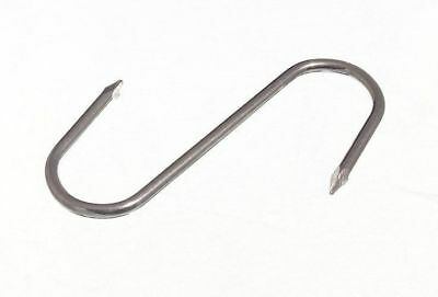 *Butchers Meat Storage 75Mm Bzp Metal S Hook 7C3 - 100 Items