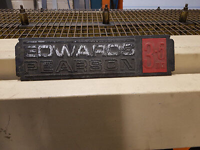 EDWARDS PEARSON 2.5m x 3.5mm guillotine