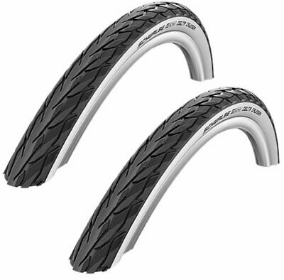 """CLEARANCE PAIR 26/"""" x 1.75 SCHWALBE DELTA CRUISER PLUS Puncture Resistant Bike Ty"""