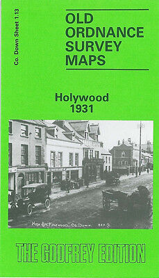 Old Ordnance Survey Map Hollywood 1931 Belfast Shore Street Ardmore Terrace