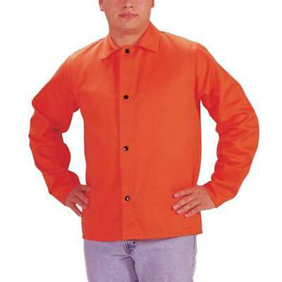 "Tillman 6230D Hi-Vis FR Cotton Welding Jacket, 30"" 9 oz, Orange, 3X-Large"