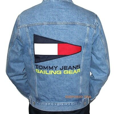 3395a4c0 TOMMY HILFIGER Men's Lined Denim Jacket TOMMY JEANS CAPSULE collection NWT