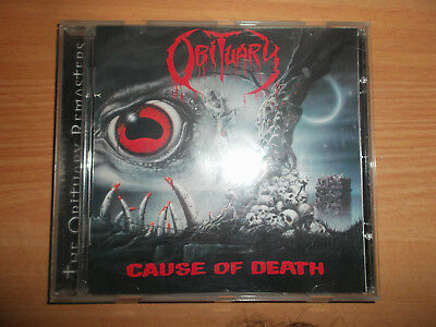 Obituary-Cause Of Death Oop 1997 Rr 8767-2 Rare!!!