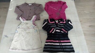 Lot de vêtements fille 23/24 mois