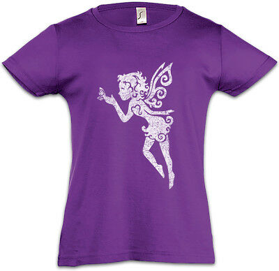 Fairy I Kids Girls T-Shirt Horn Rainbow Fun Fairies Princess Fairytale Unicorn