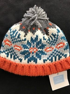 Janie and Jack NWT Baby Boy Nordic Hat - 12-24 Months