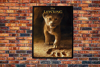 The Lion King 2019 Movie Poster Wall Art Maxi Disney Prints New Film Cinema-1623