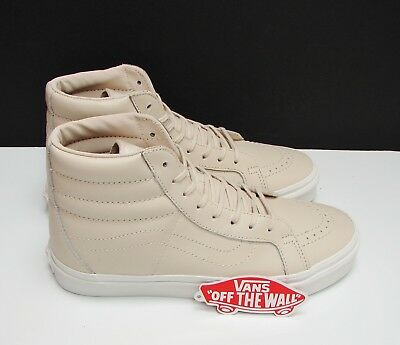 a5c543d01a6a Vans SK8 Hi Reissue DX Leather Whisper Pink Gold VN-0A38GJOES Men s Size   9.5