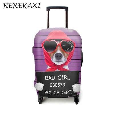 Animals Pattern Traveling Luggage Trolly Stretch Dust Cover Pet Supplies Plus