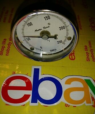 Vintage industrial MARSH mountable portable temperature gauge Thermometer GREAT!