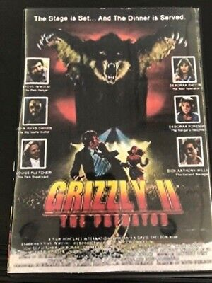 Grizzly Ii: The Predator (Dvd, 1983)