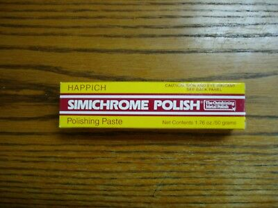 1 Tube of HAPPICH  SIMICHROME POLISH 1.76