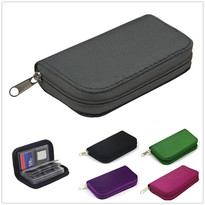 Portable Micro SD SDHC MMC Memory Card Storage Box Holder Protecter Case