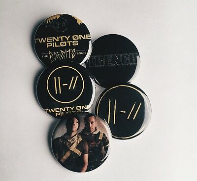Twenty One Pilots Trench Buttons
