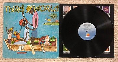 THIRD WORLD - JOURNEY TO ADDIS LP Record 1978 ISLAND RECORDS Jamaican Reggae