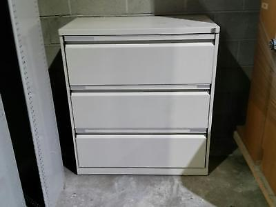 Metal 3 Drawer Lateral Filing Cabinet/Storage cabinet