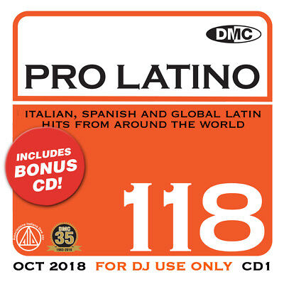 Dmc Pro Latino Issue 118 (2018) Dj Remix Service Brand New 2Cd