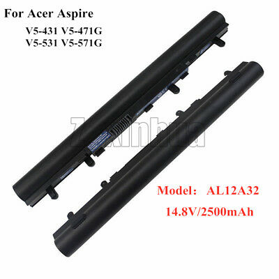 NEW Genuine Battery AL12A32 For Acer Aspire V5-431G V5-471 V5-531 V5-551 V5-571