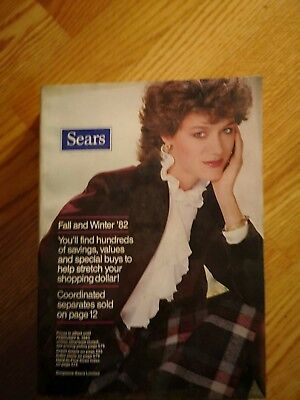 Sears Fall/ Winter 1982 976 pages EX/NrMINT condition