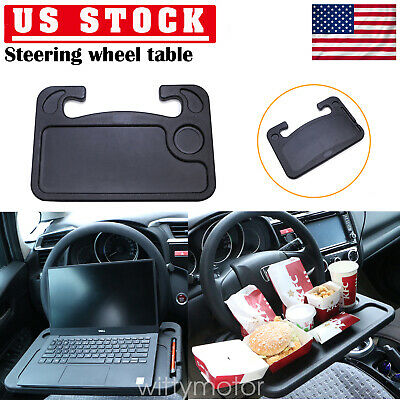 1ba0594afee5 LAPTOP STEERING WHEEL Desk Portable Car Computer Mount Holder Eating Tray  Stand