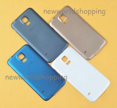 Fr Samsung Galaxy S5 i9600 Battery Back Door Cover Case OEM Rear Cover Case #6H