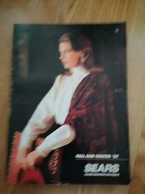 SEARS FALL AND WINTER 1987 880 pages EX condition