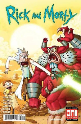 Rick And Morty 36 Mike Vasquez Incredible Hulk 181 Homage ONI PRESS
