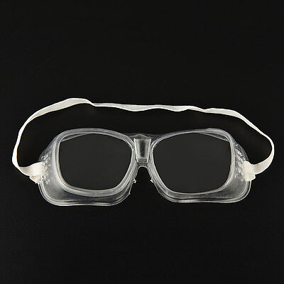 WK Eye Protection Protective Lab Anti Fog Clear Goggles Glasses Vented SafetyJF