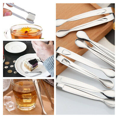 4X Stainless steel Sugar Tongs Candy Ice Cube Tongs Kitchen Buffet Bar Tools