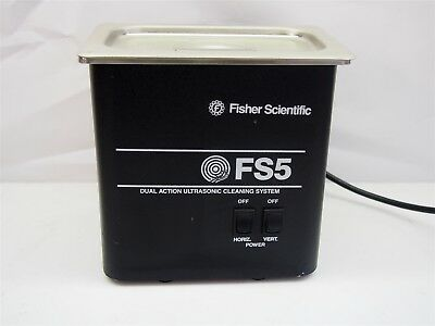 Fisher Scientific FS5 Dual Action Ultrasonic Cleaning System