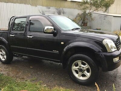 Holden Rodeo RA 2004 Dual Cab Petrol Auto Trans, Needs 3.5 Litre Engine