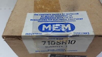 Mem 710SH10 Industrial Fuselink 415VAC 710A F-Link Centre-tag - New Sealed