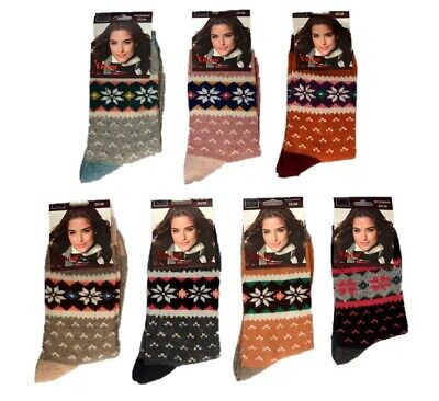 Ladies' Winter 95% Angora Thermal Socks Very Warm High Quality