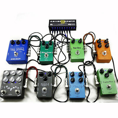 Caline CP-05 Power Supply 10CH Isolated Outputs for 9/12/18V Guitar Effect Pedal