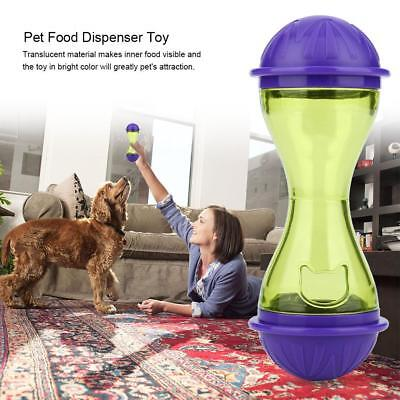 Pet Feeder Dog Cat Food Dispenser Dog Toy Ball IQ Smart Doggie Interactive