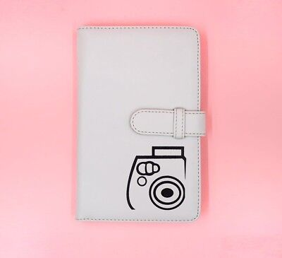 Polaroid Album Instax Mini / PU Leather Polaroid photo Album / 108 films / White