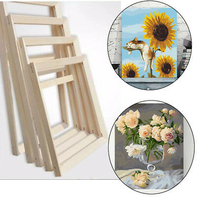 Wood Frame for Canvas Oil Painting Nature Wood DIY Frame Picture Inner Frame New