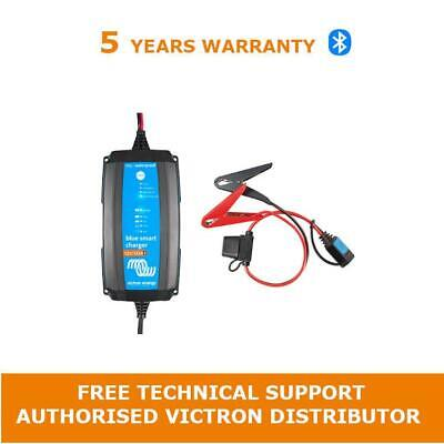 Victron Energy Blue Smart IP65 Battery Charger 12/10(1) 230V & Clamp connector