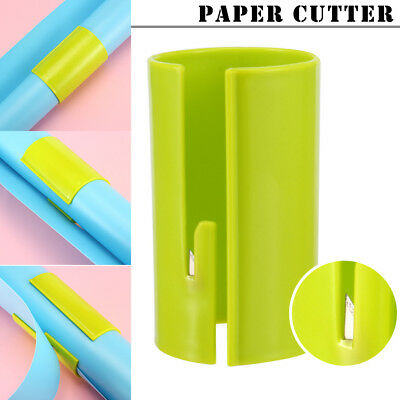 1Pcs Wrapping Paper Cutter Sliding Roll Prefect Line Every Single Cutting Tool
