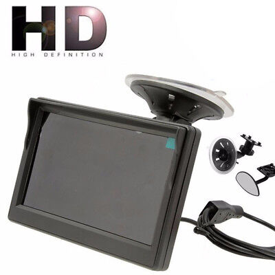 800*480 TFT LCD HD Screen Monitor For Car Rear Reverse Rearview Backup Camera@