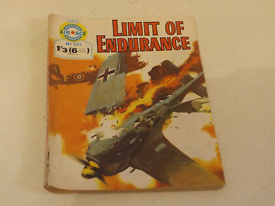 AIR ACE PICTURE LIBRARY,NO 529,1970 ISSUE,V GOOD FOR AGE,48 yrs old,RARE COMIC.