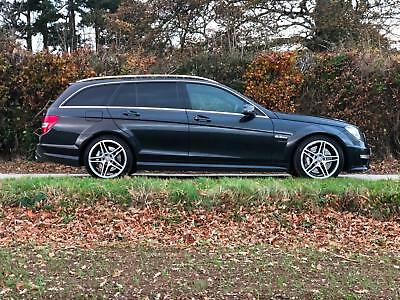 2013 13 Mercedes C63 6.3 V8 457 Bhp Estate Only 52000 Miles Beautiful Condition