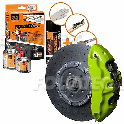 Painting Brake Caliper High Temperature 300 °C Foliatec Ft2177 Toxic Green