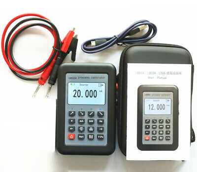 4-20mA/0-10V/mV Current 24V Voltage signal generator Thermocouple Frequency R/F