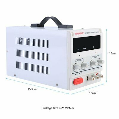 Adjustable Lab DC Bench Power Supply 0-30V 0-5A/10A Variable Linear in UK