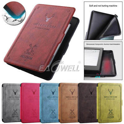 For Amazon Kindle Paperwhite 2018 10th Generation Luxury Leather Case Soft Cover