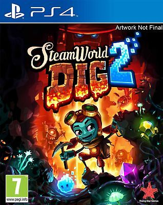 SteamWorld Dig 2 (PS4) New & Sealed Fast Free UK P&P