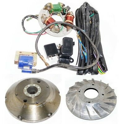 Vespa Stator With Flywheel Conversion Kit 6V to 12V VBB VBA VNA Super Sprint ECs