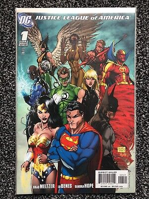 JUSTICE LEAGUE OF AMERICA ( Vol 2 )  # 1 - Michael Turner VARIANT